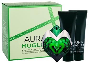 Набор для женщин Thierry Mugler Aura 50 ml EDP + 50 ml Shower Milk + 50 ml Body Lotion