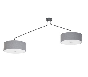 Griestu lampa Nowodvorski Hawk Gray 6541 6x60W E27
