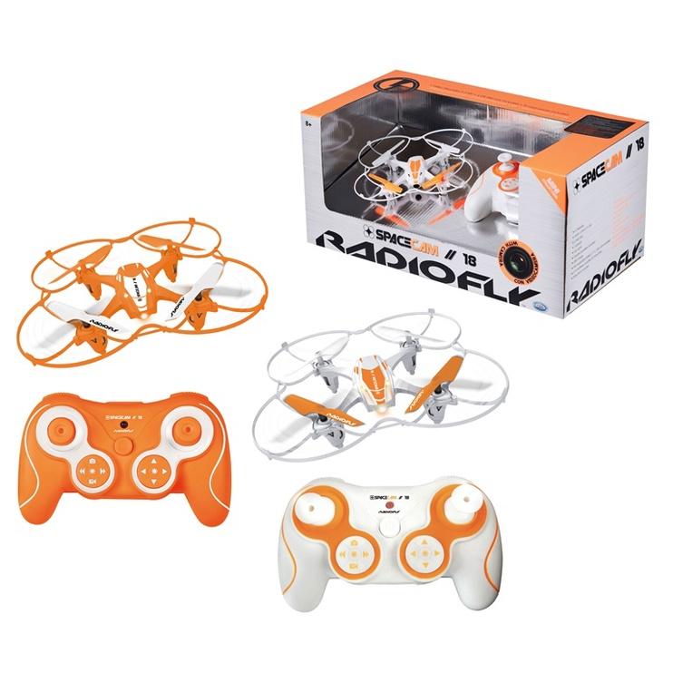 Žaislinis dronas Radiofly Space Cam 18 37966