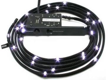NZXT Sleeved 24 LED Kit White 2m