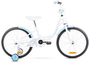Vaikiškas dviratis Romet Tom 10'' 20'' White/Blue