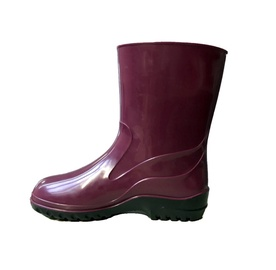 Moteriški guminiai batai, su aulu, vyšniniai, 38 dydis