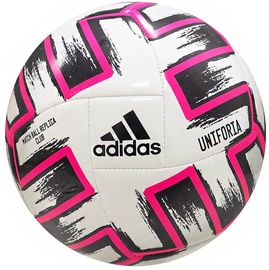 Adidas Uniforia Club Ball White/Black/Pink Size 5