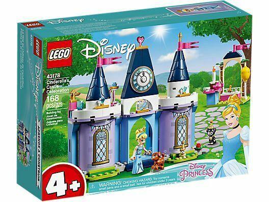 Konstruktorius LEGO®Disney Princess 43178 Pelenės pilies šventė