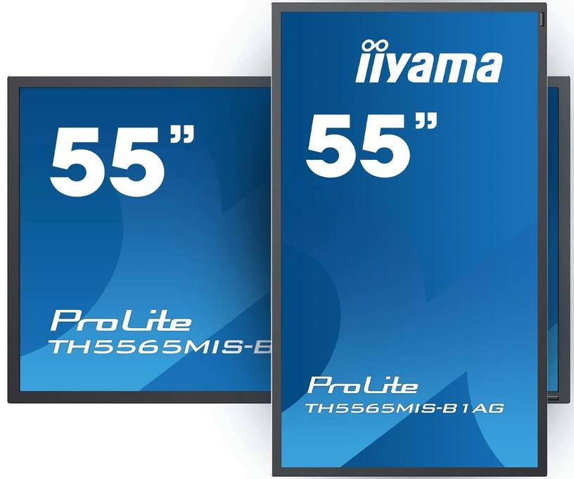 """Monitorius Iiyama ProLite TH4265MIS-B1AG, 42"""", 6.5 ms"""
