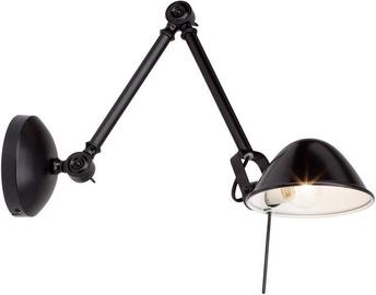 Brilliant Torana Wall Lamp 40W E14 Black