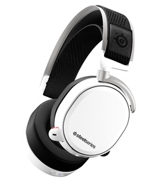 SteelSeries Arctis Pro Wireless Gaming Headset White with DTS Headphone:X