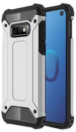Hurtel Hybrid Armor Back Case For Samsung Galaxy S10e Silver