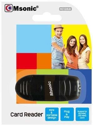 Vakoss MSonic MC128UK USB 2.0 Card Reader Black