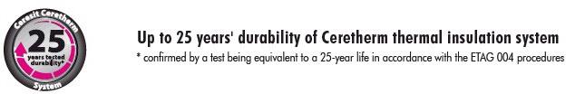 Silikoninis tinkas CT 74 Self Clean, bazė, akmenukų faktūra, 1,5mm, 25kg