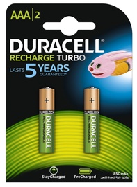 AKUMULATORS DURACELL HR03 800MAH 2GAB