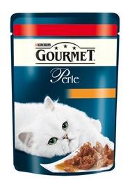 Kassitoit Gourmet Perle lihaga, 85 g