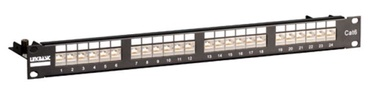 Linkbasic F/STP CAT 6 Patch Panel 24 Port Black