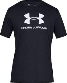 Under Armour Sportstyle Logo Tee 1329590-001 Black L