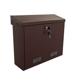 Pašto dėžutė Glori ir Ko PD92M, ruda