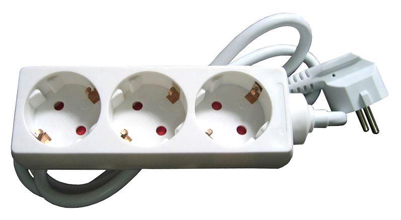 Pikendusjuhe Okko Power Strip 3 Outlet 230V 16A 1.5m