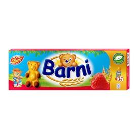 Sausainiai Barni su braškių įdaru, 150 g, 5 vnt.