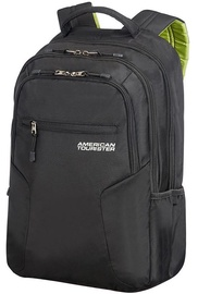 "Samsonite Notebook Backpack For 15.6"" Black/Green"