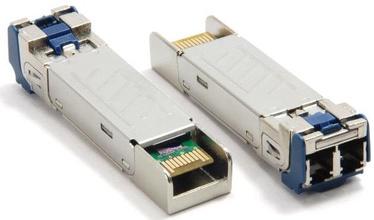 LevelOne GVT-0301 Fiber Optic Transceivers Single-mode 10km 1.25Gbps