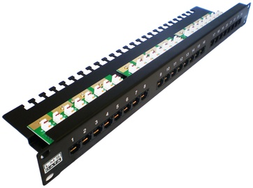 LMS DATA Patch Panel 24-Port PPAN-24-LC2