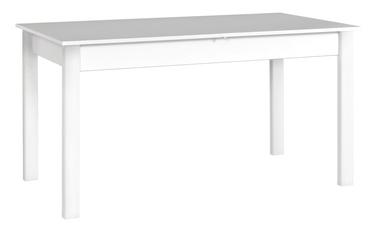 Drewmix Alba 2 Expanding Table 140/180cm White