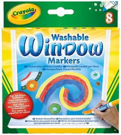 Crayola Washable Window Markers 8pcs