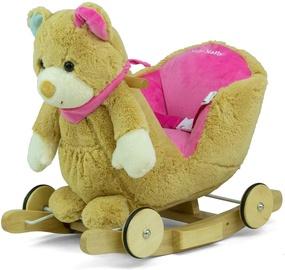 Конь-качалка Milly Mally Rocking Horse Mis Polly Pink Bear