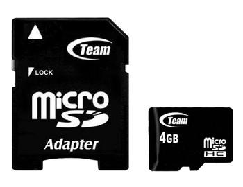 Mälukaart Team Group Micro SDHC, 4 GB