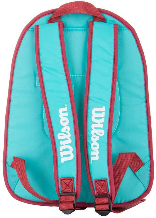Wilson Junior Backpack For 2 Rackets Blue/Pink