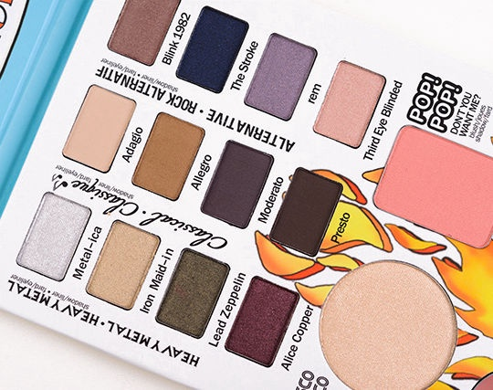 TheBalm Balm Jovi Rockstar Face Palette 21.2g
