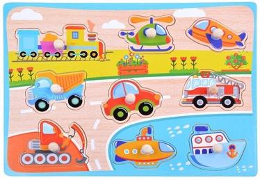 Puzle Vehicles, 9 gab.