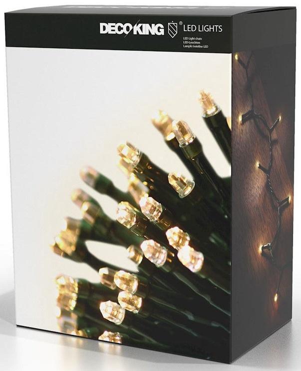 Электрическая гирлянда DecoKing LED, теплый белый, 1993 см