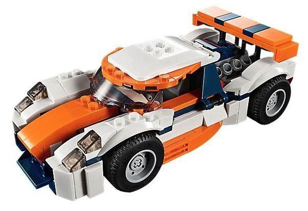 Конструктор LEGO Creator Sunset Track Racer 31089 31089, 221 шт.