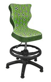 Entelo Petit Black HC+F Size 4 Children Chair ST29 Football