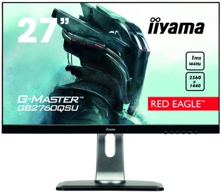 "Monitorius Iiyama G-Master Red Eagle GB2760QSU-B1, 27"", 1 ms"