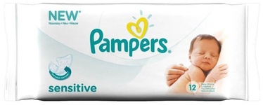 Pampers Baby Sensitive Wipes 12Pcs