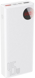 Baseus Quick Charge Power Bank 20000mAh White
