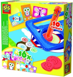 SES Creative Spiral Drawing Set With Cards 14947