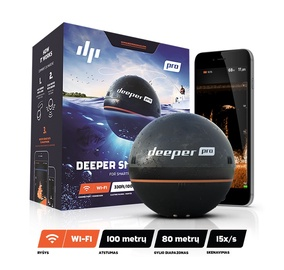 Deeper Smart Fishfinder Sonar Pro For iOS And Android