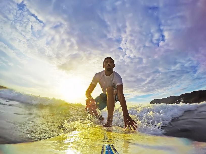 GoXtreme Surfboard Mount