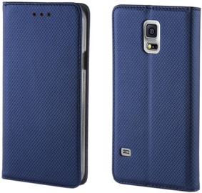 Forever Smart Magnetic Book Case For Samsung Galaxy Xcover 4 Dark Blue