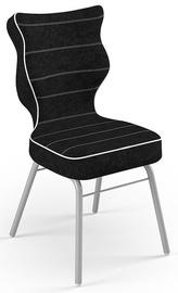 Детский стул Entelo Solo Size 3 VS01, черный/серый, 310 мм x 695 мм