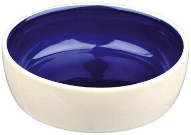Trixie Cat Ceramic Bowl Blue 12cm