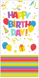 Herlitz Tablecloth 120x180 Happy Birthday Mix It