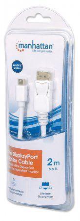 Manhattan Monitor Cable Mini DisplayPort To DisplayPort 2 m 393812