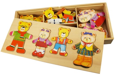 Bigjigs Toys Dress Up Bear Family BJ766