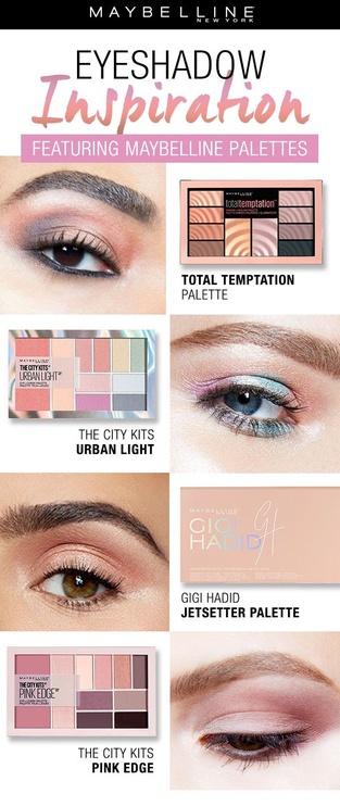 Maybelline The City Kits Eye & Cheek Palette 12g 01