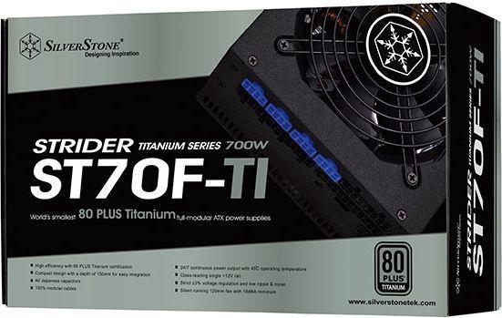SilverStone PSU Strider 80 Plus Titanium ST70F-TI 700W