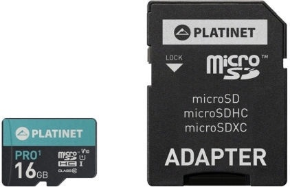Platinet Pro microSDHC 16GB UHS-I Class 10