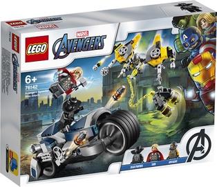 Konstruktorius LEGO®Super Heroes 76142 Greitaeigio Keršytojų motociklo ataka